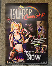 LOLLIPOP CHAINSAW - A2 DOUBLE SIDED - GAMING - PROMO POSTER (NOT A GAME)