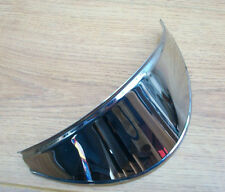 LAMBRETTA  SERIES 3 & SX STAINLESS STEEL HEADLIGHT PEAK. BRAND NEW