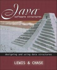 Java Software Structures: Designing & Using Data .. 1st. ed, Lewis, Chase, NEW