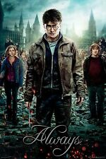 Harry Potter - Always Poster #97 Size 61 x 91.5cm. FAST 'N FREE DELIVERY
