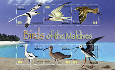 Maldives Maldive Islands 2010 MNH Birds of Maldives 6v M/S Waders Whimbrel Stilt