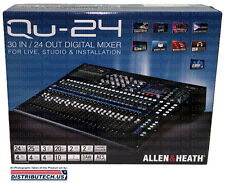 Allen & Heath QU-24 30-In/24-Out Digital Mixer New Chrome Edition