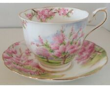 (A) Royal Albert Blossom Time Cup and Saucer