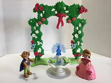 Playmobil ~ PRINCE PRINCESS 4257 ~ ROSES FOUNTAIN ~ Fairy Tales ~ A1