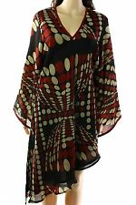 Diane von Furstenberg NEW Red Womens Size Medium M Shift Dress $528- 314 DEAL