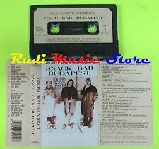 MC SNACK BAR BUDAPEST SOUNDTRACK ZUCCHERO SUGAR FORNACIARI 1988  cd lp dvd vhs