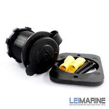 12V Universal Cigarette Cigar Socket Power Supply Lighter Accessory Boat Marine