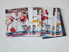 2014 UD Winter Classic 1-10  Detroit Red Wings + Checklist CL Upperdeck Set