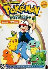 DVD ANIME POKEMON Indigo League Vol.1-79End Complete TV Series English Audio