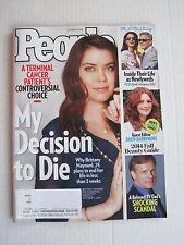 People V82N18 - My Decision To Die - 27-Oct-2014