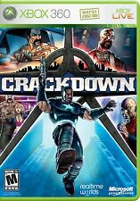 XBOX 360 Crackdown Video Game Multiplayer Online Shooter Adventure Action 1080p