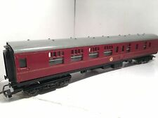 Hornby BR maroon brake coach. 35024.  model railway