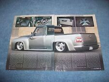 "1954 Ford F-100 Custom Pickup Truck Article ""Brother's Bond"""