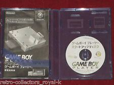 Nintendo GameCube GAME BOY PLAYER START-UP DISC NTSC-J Japan Import Gameboy
