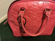 LOUNGEFLY HELLO KITTY PINK EMBOSSED TOTE BAG 100% AUTHENTIC