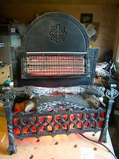 Vintage Mid Century Belling Electric Medieval Fire Stunning Antique 2KW GWO