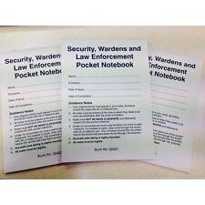 Sicurezza, difensori e forze dell'ordine Tasca Notebook