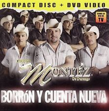 Borron y Cuenta Nueva by Grupo Montez de Durango (CD, May-2006, Disa) NEW Sealed