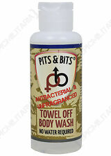 Waterless Body Wash 65ml Anti-Bacterial Scent Free Camping and Festival Ready