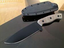Josiah Gravelle custom made Field Knife!!!Rare!!!