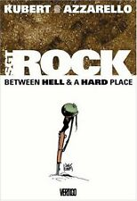 Sgt Rock: Between Hell & a Hard Place by Brian Azzarello & Joe Kubert HC Vertigo