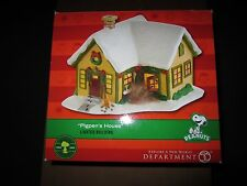 Department 56 Peanuts Pig Pen House Retired VERY RARE plus 4 other peanut houses