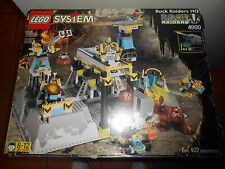 Vintage 1999 LEGO System 4990 ROCK RAIDERS HQ Headquarters IN BOX WITH BOOKLET