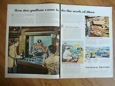 1951 GM Ad General Motors Ad Engineering 1951 Lucky Strike Cigarette Ad Swimming