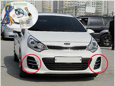 Fog Lamp Light & Cover Harness Kit For 2016+ Kia Rio 5Door hatchback Genuine OEM