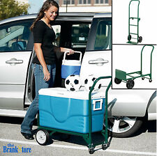 Hand Truck Dolly Folding Utility Cart Moving Luggage Trolley Convertible 400 lb