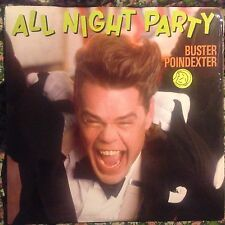 BUSTER POINDEXTER • All Night Party • Vinile 12 Mix • 1989 RCA