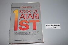 COMPUTE!'S FIRST BOOK OF ATARI ST GAME UTILITY TUTORIALS PROGRAMMING CODING