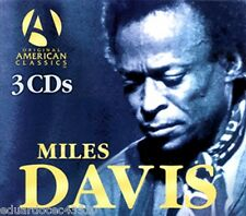 Canada Edition Miles Davis The 3 CD set Collection Box Set 2005 Jazz Forever