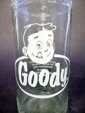 vintage ACL Soda Bottle: GOODY of YORK, PA - 10 oz VINTAGE ACL