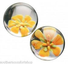 "Flower Glass Prisms Asvani 1"" Geisha kegal Ben Wa Balls"