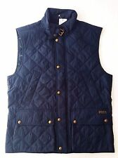 NWT Ralph Lauren Polo big pony quilted mens vest Retails for $225 Small $74.99