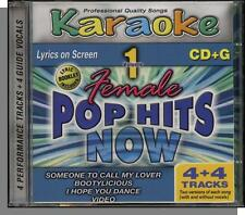 Karaoke CD+G - Female Pop Hits Now, Vol 1 - New 4 Song CD! Someone To Call Lover