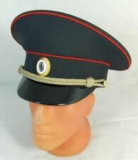 Russian Police Officer Visor Hat Cap Badge - 59cm L - New Uniform Top Quality