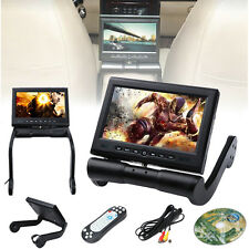 """8.5"""" LCD Screen In Car Armrest Monitor Video DVD Player IR/FM/USB/TF Game Remote"""