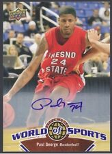 2010 Paul George Upper Deck  Autograph/Rookie