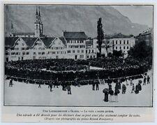 1900  --  SUISSE   UNE LANDSGEMEINDE A GLARIS   3K247