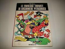 WALT DISNEY:FAVOLOSE TROVATE DI ARCHIMEDE PITAGORICO. MONDADORI LUGLIO 1975 1aED