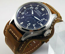 47mm Parnis Big Pilot Power Reserve Chronometer Seagull Automatic Men Watch