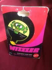WIZZER MATTEL Whizzzer WHIRLER TOY  TOP WITH BOX 1970 VINTAGE Glow In The Dark!