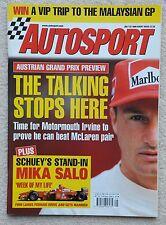 Autosport magazine 22nd July 1999