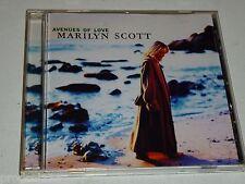 CD Marilyn Scott: Avenues Of Love (1998 Warner Bros.)