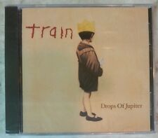 """DROPS OF JUPITER by TRAIN [Promo] (CD, 2001 - USA - Columbia) BRAND NEW """"SEALED"""""""