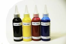 XPro UV resistant Heat transfer Pigment Ink for 4 color Epson workforce printers