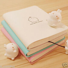 ~2017 Molang Diary Weekly Planner Agenda Notepad School Notebook Cute Rabbit