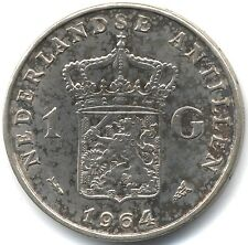 1964 Netherlands Antilles Silver Proof Gulden(Fish)***Collectors***